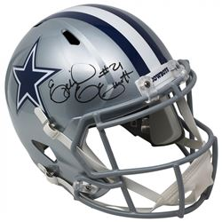 Ezekiel Elliott Signed Dallas Cowboys Full-Size Speed Helmet (Beckett COA)