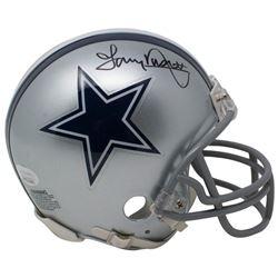 Tony Dorsett Signed Dallas Cowboys Mini Helmet (JSA COA)