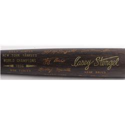 Louisville Slugger 1956 New York Yankees World Champions Engraved Baseball Bat