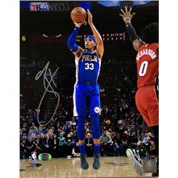 Tobias Harris Signed Philadelphia 76ers 8x10 Photo (SI COA)