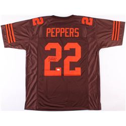 Jabrill Peppers Signed Cleveland Browns Jersey (JSA COA)