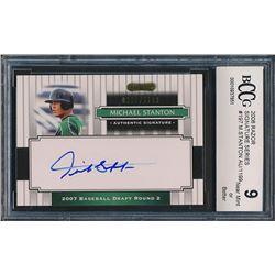 2008 Razor Signature Series #197 Michael Stanton AU / 1199 (BCCG 9)