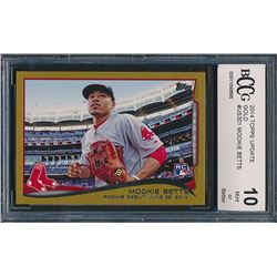 2014 Topps Update Gold #US301 Mookie Betts RC (BCCG 10)