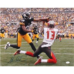 Mike Evans Signed Tampa Bay Buccaneers 16x20 Photo (JSA COA)