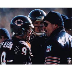 Jim McMahon Signed Chicago Bears 16x20 Photo (Beckett COA)