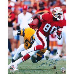 Jerry Rice Signed San Francisco 49ers 16x20 Photo (Beckett COA)