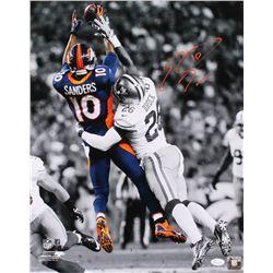 Emmanuel Sanders Signed Denver Broncos 16x20 Photo (JSA COA)