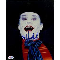 Jack Nicholson Signed Batman 8x10 Photo (PSA COA)