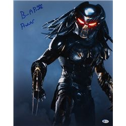 "Brian A. Prince Signed ""The Predator"" 16x20 Photo Inscribed ""Predator"" (Beckett COA)"