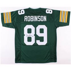 """Dave Robinson Signed Green Bay Packers Jersey Inscribed """"HOF 2013"""" (JSA COA)"""