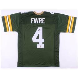 Brett Favre Signed Green Bay Packers Jersey (Favre Hologram  Schwartz COA)