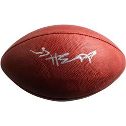 Antonio Brown Signed Official NFL Game Football (Steiner COA)