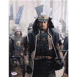 "Ken Watanabe Signed ""The Last Samurai"" 11x14 Photo (PSA Hologram)"