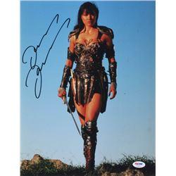 "Lucy Lawless Signed ""Xena: Warrior Princess"" 11x14 Photo (PSA COA)"