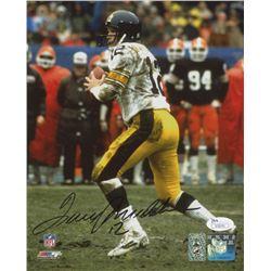 Terry Bradshaw Signed Pittsburgh Steelers 8x10 Photo (JSA COA  Bradshaw Hologram)