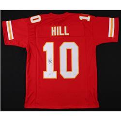Tyreek Hill Signed Kansas City Chiefs Jersey (Beckett COA)