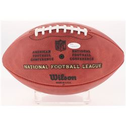 """Jabrill Peppers Signed """"The Duke"""" Official NFL Game Ball Inscribed """"1st Round Pick"""" (JSA COA)"""