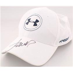 Jordan Spieth Signed Under Armor Hat (Beckett COA)