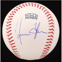 James Taylor Signed Official 2018 World Series Baseball (JSA COA)
