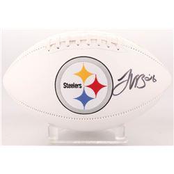 Le'Veon Bell Signed Pittsburgh Steelers Logo Football (JSA COA)