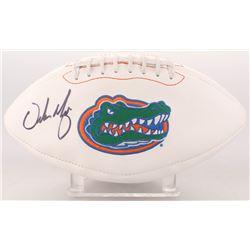 Urban Meyer Signed Florida Gators Logo Football (JSA COA)