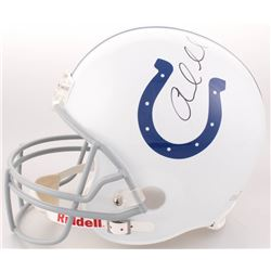 Andrew Luck Signed Indianapolis Colts Full-Size Helmet (PSA COA)