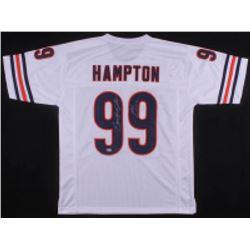 """Dan Hampton Signed Chicago Bears Jersey Inscribed """"HOF 2002"""" (Beckett COA)"""