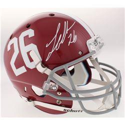 Landon Collins Signed Alabama Crimson Tide Full-Size Helmet (Radtke COA  Collins Hologram)