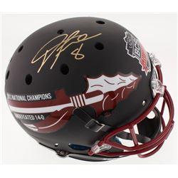 Devonta Freeman Signed Florida State Seminoles 2014 National Champions Full-Size Helmet (Radtke COA)