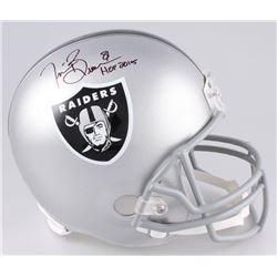 "Tim Brown Signed Oakland Raiders Full-Size Helmet Inscribed ""HOF 2015"" (Radtke COA)"