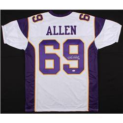 Jared Allen Signed Minnesota Vikings Jersey (JSA COA)