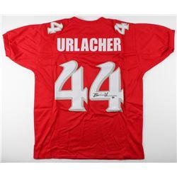 Brian Urlacher Signed New Mexico Lobos Jersey (JSA COA)