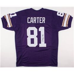 Anthony Carter Signed Minnesota Vikings Jersey (JSA COA)