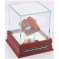 Boston Red Sox Authentic Brick From Fenway Park with Display Case (Steiner COA)