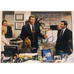 "Steve Carell  Will Ferrell Signed ""The Office"" 11x14 Photo (PSA COA)"