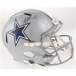 Troy Aikman Signed Dallas Cowboys Full-Size Speed Helmet (Aikman Hologram)
