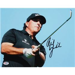 Phil Mickelson Signed 11x14 Photo (PSA Hologram)