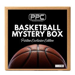 Press Pass Collectibles Basketball Box - Pristine Exclusive Signed Basketball Mystery Box