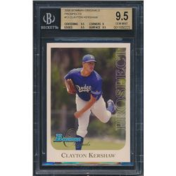 2006 Bowman Originals Prospects #13 Clayton Kershaw (BGS 9.5)