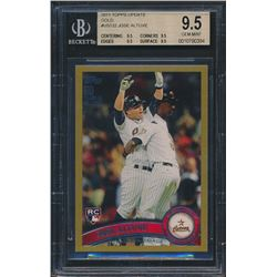 2011 Topps Update Gold #US132 Jose Altuve RC (BGS 9.5)