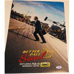 "Bob Odenkirk Signed ""Better Call Saul"" 12x18 Photo (PSA COA)"