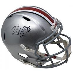 Nick Bosa Signed Ohio State Buckeyes Full-Size Speed Helmet (JSA COA)