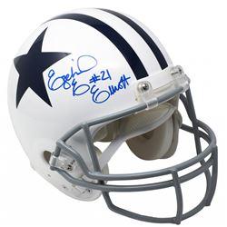 Ezekiel Elliott Signed Dallas Cowboys Full-Size Authentic On-Field Helmet (Beckett COA)