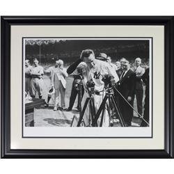 "Lou Gehrig LE ""Iron Horse Hulton"" 23x28 Custom Framed Giclee Display"