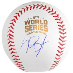 Kris Bryant Signed 2016 World Series Logo Baseball (Fanatics Hologram  MLB Hologram)
