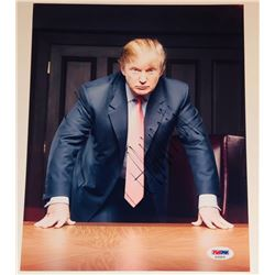 Donald Trump Signed 8.5x11 Photo (PSA LOA)