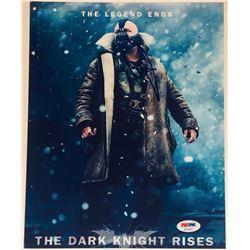 """Tom Hardy Signed """"The Dark Knight Rises"""" 8.5x11 Photo (Beckett COA)"""