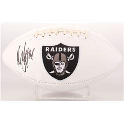 Marshawn Lynch Signed Oakland Raiders Logo Football (Radtke COA)