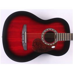 "Alanis Morissette Signed 38"" Rogue Acoustic Guitar (JSA COA)"