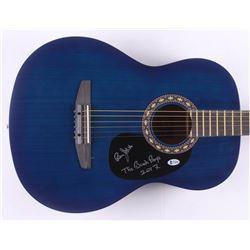 "Bruce Johnston Signed 38"" Rogue Acoustic Guitar Inscribed ""The Beach Boys""  ""2017"" (Beckett COA)"